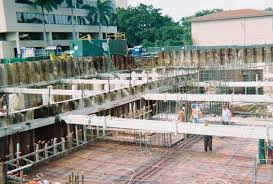 Basement Dewatering System by Shoring Dewatering In Flood Zone Underground Construction