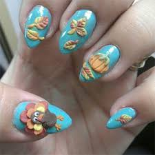 easy thanksgiving nail designs ideas 2013 2014
