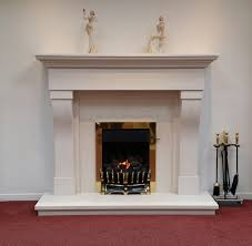 fireplaces marble stone and wood fireplace by design