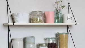 étagère cuisine à poser étagère murale bois métallique d angle côté maison