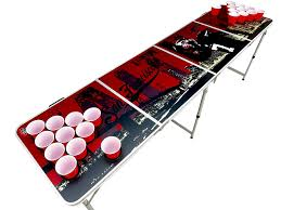 Beer Pong Table Length 20 designs 8ft beer pong tables with holes pre drilled cup