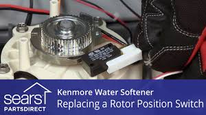 how to replace a kenmore water softener rotor position switch