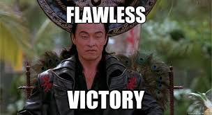 Victory Meme Face - flawless victory shang tsung quickmeme