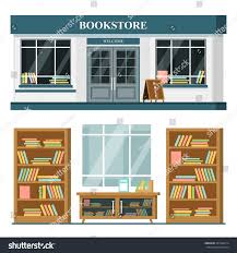 set vector detailed flat design bookstore stock vector 447946714