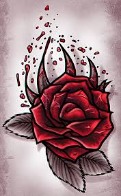 how to draw a rose tattoo design step by step drawing guide by
