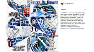 Nhl Map Goalies Show Off World Cup Masks