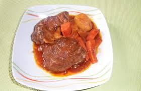 cuisiner le jarret de boeuf jarret de boeuf confit recette dukan pl par mamie25 recettes et