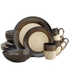 dinnerware sets for 8 stoneware dinner set pfaltzgraff