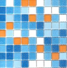 Blue Glass Tile Bathroom Blue Glass Mosaic Tile Backsplash Glass Tile Bathroom Tile In