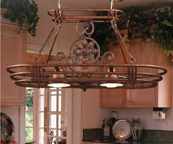 diy pot rack double built in oven vintage wall lights square