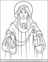 rosary for kids rosary archives the catholic kid catholic coloring pages and