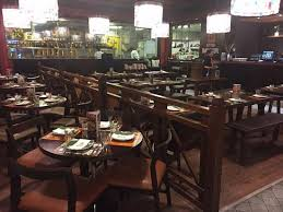 Urban Thai Kitchen - the dining room is spacious well lit and well ventilated