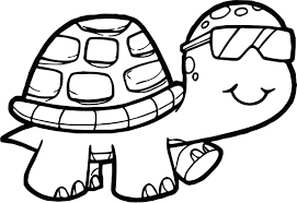 coloring pages baby turtles book ninja funny tortoise turtle