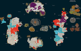 World Of Warcraft Map by Territory Map Of Azeroth Imgur