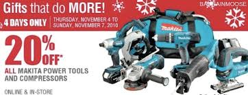 home depot black friday makita power tools home depot 20 off makita power tools
