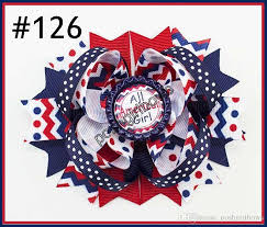 fourth of july hair bows newest 4th of july hair bows girl boutique hair bows patriotic