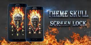 theme lock apk screen lock theme skull apk download free personalization app for