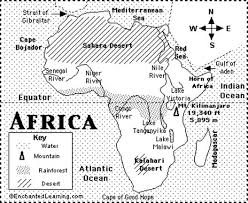africa map answers ancient s geography ms ouellet s social studies