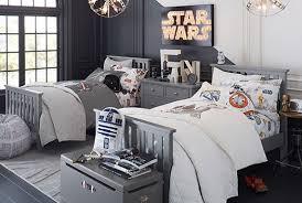 Star Wars Bedroom Furniture by Star Wars Light Side Dark Side Bedroom Pottery Barn Kids