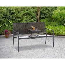 Replace Wood Slats On Outdoor Bench Mainstays Endurowood Pop Up Bench Seats 2 Walmart Com