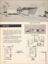 mid century modern house plan floor plan mid with sloping design basements homes century and