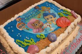 bubble guppies fruit basket cake