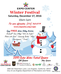 go metro to the expo center winter festival at expo park the source