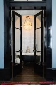 Bathroom In Black Ashe Leandro