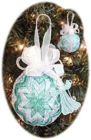 quilted ornament pattern pdf by christmasornament 4 95