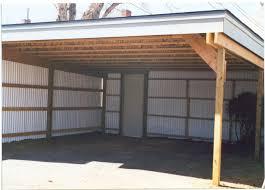 building a custom carport