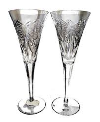 waterford millennium happiness toasting flutes pair