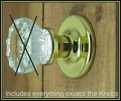 universal retrofit kit to install your antique knobs in modern