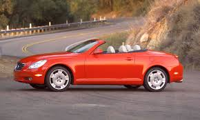 lexus convertible sc430 bargain convertibles 20 under 20 000 autonxt