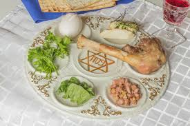 seder meal plate seder plate six foods make up this passover meal stock