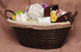 High End Gift Baskets Photo Baby Baby Shower Gift Image