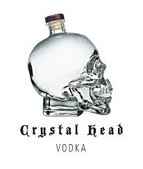 martini glass logo crystal head the deconstructed martini