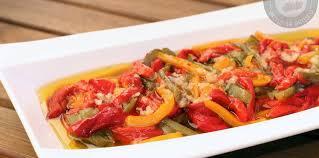 cuisiner poivron marinade de poivrons facile et pas cher recette sur cuisine actuelle