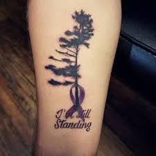 45 supportive cancer ribbon tattoo designs not just for fun mom