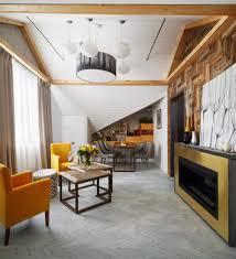 Slope Ceiling by Inspiring U0026 Cozy Naturalistic Attic Interior Design Home