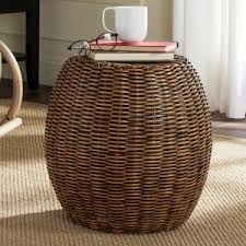 cancun palm end table tropical end tables side tables hayneedle