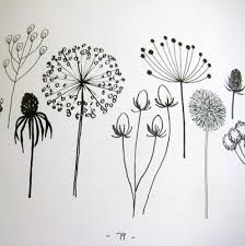 Flower Designs For Drawing The 25 Best Simple Flower Drawing Ideas On Pinterest Dibujo