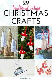 29 vintage christmas crafts favecrafts com