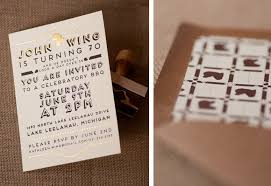 fpo john wing 70th birthday party invitation