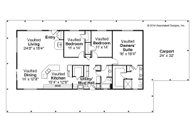 Ranch House Blueprints Ranch House Plans Madrone 30 749 Associated Designs Ranch House