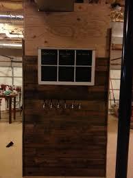 Full Size Kegerator Pallet Wall Slide Out Kegerator Build W Retro Gaming Center