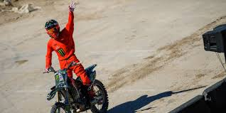 fmx freestyle motocross taka higashino takes 1st place monster energy fmx high rollers contest