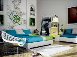 Bedroom Contemporary Decorating Ideas - bedroom decorating ideas blue and green contemporary with bedroom