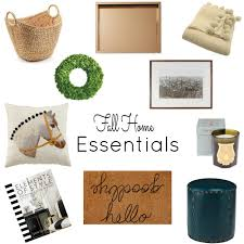 home essentials fall essentials for the home nomad luxuries