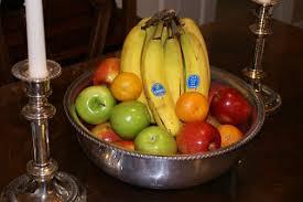 fruit centerpiece bowl centerpiece