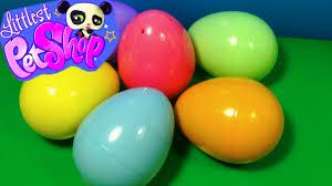 littlest pet shop easter eggs 6 littlest pet shop eggs lps eggs each egg holds